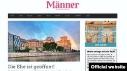 "Presa germană LGBT salută votul din Bundestag (Foto: ""Männer"")"