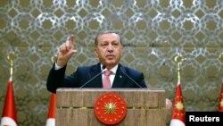 Түрк президенти Режеп Тайып Эрдоган