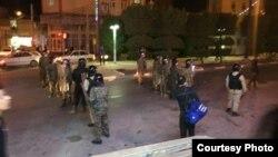 گزارش رادیویی از درگیریهای گسترده شنبه شب در خرمشهر
