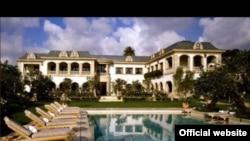 ABŞ. Los Angelesdə prezident qızına məxsus olduğu deyilən villa. Binanın qiymətinin 58 milyon dollar civarında olduğu deyilir