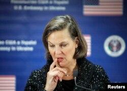 Предшественница Курта Волкера на посту спецпредставителя США по Украине Виктория Нуланд