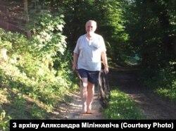 Аляксандар Мілінкевіч у Берштах