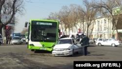 Ташкентте болған жол-көлік апаты. 16 сәуір 2013 жыл.