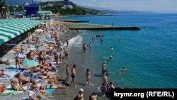 Кырым, Алушта пляжлары
