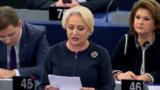Premieru Viorica Dăncilă la dezbaterea din Parlamentul European