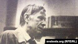 Васіль Быкаў, кастрычнік 1991 г. Фота Ўладзімера Крука