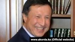 Адильбек Джаксыбеков в бытность акимом Астаны.