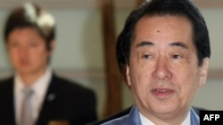 "Japaese Prime Minister Naoto Kan said the situation ""continues to be unpredictable."""