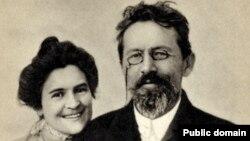 A.Çexov və Knipper