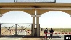 Таможенный пункт на границе Афганистана и Ирана. Иллюстративное фото