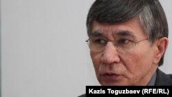 Оппозиционный политик Жасарал Куанышалин. Алматы, 29 февраля 2012 года.