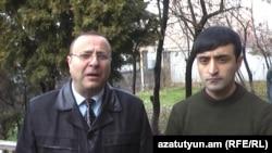 Адвокаты Тигран Айрапетян (слева) и Ара Карагезян
