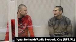 Колишні співробітники спецпідрозділу «Беркут» Сергій Зінченко та Павло Аброськін