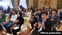 Бишкекте өткөн жаштардын конгресси. 12-ноябрь, 2018-жыл.