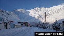 Тоолуу-Бадахшандын Дарвоз району. 18-январь, 2019-жыл.