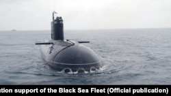 Подводная лодка Черноморского флота России «Новороссийск», иллюстрационное фото