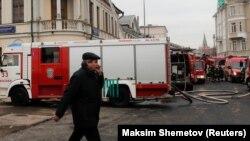 Пожарные машины, иллюстративное фото