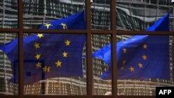 Еуропа Одағы туы, Брюссель. (Көрнекі сурет.)