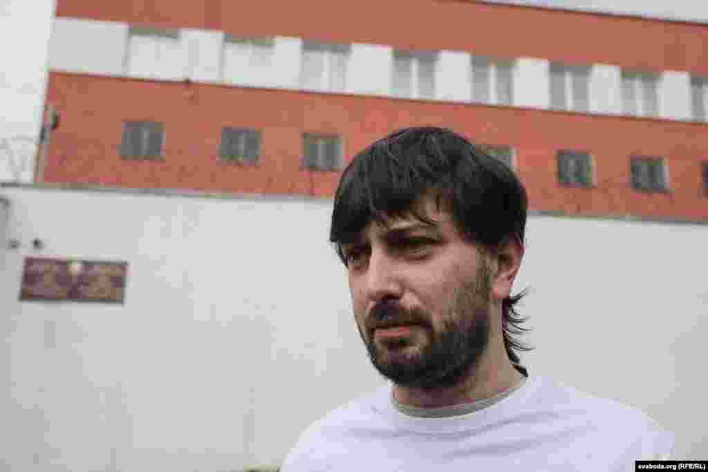 Журналіст Аляксандар Баразенка