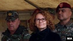Архивска фотографија-министерката за одбрана Радмила Шекеринска