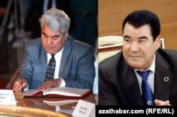 Бывший президент Туркменистана Сапармурат Ниязов, фото 1991 год (слева) и 2005 (справа)