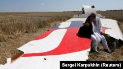 MH17 uçarynyň galyndylary