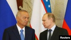 Uzbek President Islam Karimov made his remarks after meeting with his Russian counterpart in Moscow on April 26.