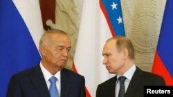 Vladimir Putin və Islam Karimov