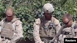 Trupat e marinës thanë se ende nuk është verifikuar origjina dhe vërtetësia e videos...