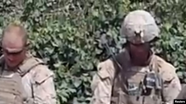 A video of Marines urinating on the corpses of Taliban fighters was posted on YouTube last year.