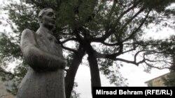 Spomenik Aleksi Šantiću u Mostaru