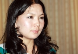 Журналист Инга Иманбай.