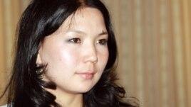 Журналист Инга Иманбай. Алматы, 11 сентября 2012 года.
