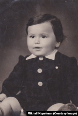Михаил Копельман в детстве