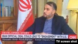 حسين اميرعبداللهيان، معاون عربی و آفريقای وزارت امور خارجه ايران