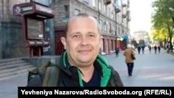 Виктор Гром, военный корреспондент, автор фильма «Крым. Окруженные предательством», Запорожье, 18 апреля 2019 года