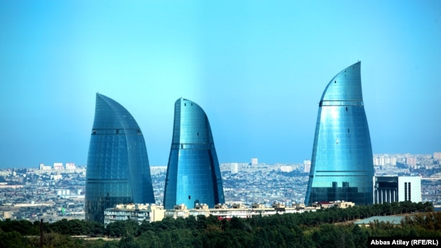 Dia's projects include the Fairmont Flame Towers in Baku, three curving, glass-walled buildings whose shape in part pays homage to the vast natural-gas deposits in the region.