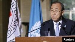 Генеральный секретарь Организации Объединенных Наций (ООН) Пан Ги Мун.