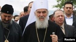 Patrijarh Irinej tokom obeležavanja Vidovdana, 28. jun 2010.