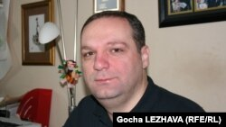 Georgia -- Giorgi Gogia, Human Rights Watch's Representative for the South Caucasus. Tbilisi, 05Jan2012