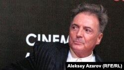 Актер и режиссер Арманд Ассанте. Алматы, 2 декабря 2011 года.