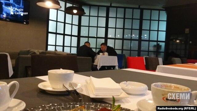 Депутат Грановський та екс-міністр палива та енергетики Володимир Демчишин у ресторані «Інк»