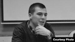 Горан Таневски, студентски активист.