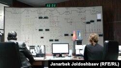 Токтогул суу сактагычынын адистери. 18-январь, 2013-жыл.