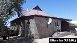 Дом Есмагамбетовых в Арыси.