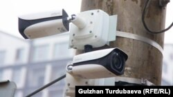 «Коопсуз шаар» долбоорунун камералары. Бишкек шаары.