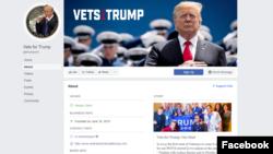 ABŞ-da Prezident Donald Trump-a dəstək səhifəsi