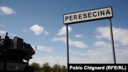 Peresecina: primăvară, alegeri