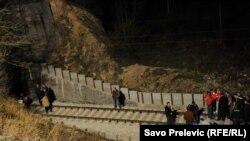 Željeznička nesreća u Crnoj Gori