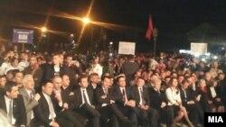 Митинг на ДУИ во Сарај.